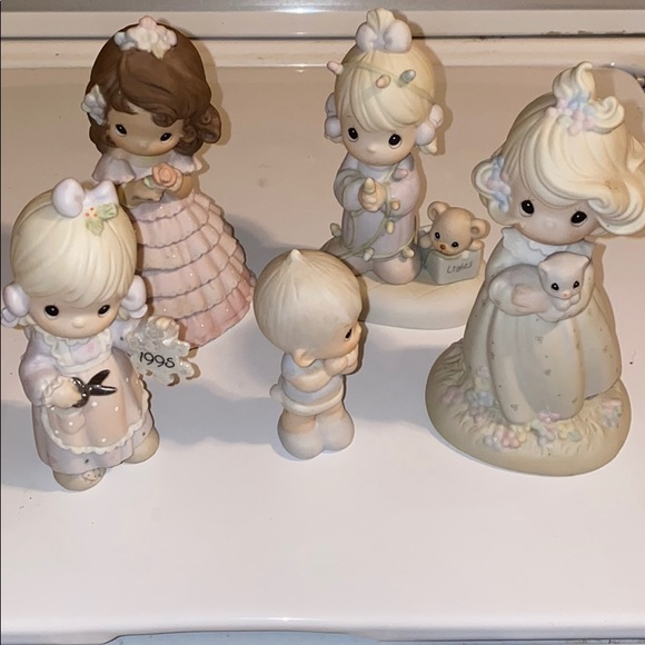 Precious moments figurine collection